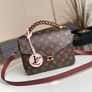 Louis Vuitton M43984 Pochette Metis Satchel bags ^